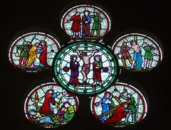East Window, Westwell (Aidan McRae Thomson) Tags: church window victorian stainedglass oxfordshire rosewindow westwell