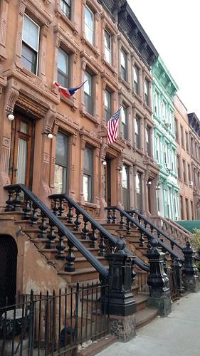 upper Lexington row houses by KLGreenNYC, on Flickr