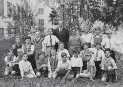 Norra ngby Folkskola, klass 5a, vrterminen 1938 (Olle Sundh) Tags: stockholm norra skola klass bromma svv skolfoto ngby folkskola skolbarn vultejusvgen
