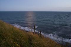 Dont hold on to the fence (Kristian Hagelin) Tags: longexposure blur reflection nature skne nikon waves sweden 28mm nikkor f28 ais alestenar d800 kseberga