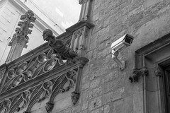 Big Brother - Old vs New (Christophe A.) Tags: barcelona blackwhite noiretblanc nb barcelone d7100