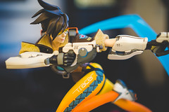 Overwatch - Tracer (Paincakes77) Tags: statue tracer blizzard collectibles overwatch
