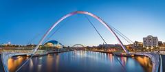 Millennium Bridge (Phil Pounder) Tags: newcastle millennium quayside