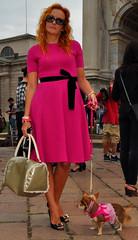 Milan Fashion Week spring/summer 2015 street style (Paulix Black) Tags: street city urban woman dog sexy girl beauty smart fashion lady cool glamour italia pumps dress legs candid milano moda style class heels glam spike chic elegant fashionista luxury settimana stylish classy elegance fashionable lusso streetstyle