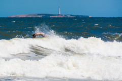 Falso Cetceo (Gonzak) Tags: summer beach faro uruguay nikon fake playa verano olas isla uru calor espuma maldonado uz puntadeleste 2014 cetaceo delfn guz d7100 gonzak useta gonzakfotos