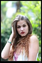 nEO_IMG_DP1U9085 (c0466art) Tags: blue light portrait cute portugal girl canon campus model university pants jean outdoor gorgeous taiwan professional short lovely charming antunes 1dx martah c0466art