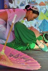 Snake Dance (jpellgen) Tags: summer usa girl minnesota festival america umbrella asian dance nikon midwest university dancers chinese stpaul august fair dancer parasol nightmarket western twincities saintpaul tamron mn 18200mm snakedance d7000 littlemekong