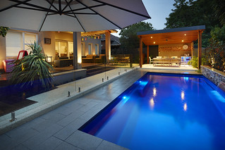 Fibreglass Swimming pool 7.5m Monaco Design