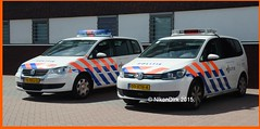 Dutch Police Tourans NN. (NikonDirk) Tags: nikondirk politie police dutch holland vw volkswagen golf traffic transporter t5 gp noord nederland hulpverlening netherlands foto bus 96nvj5 00xtn4