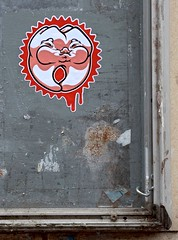 HH-Sticker 1939 (cmdpirx) Tags: street urban art public painting graffiti stencil nikon sticker artist post mail 7100 d space raum kunst strasse glue hamburg vinyl crew trading marker hh aerosol aufkleber handdrawn combo kleber paket handgemalt ffentlicher kuenstler