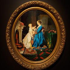 """Patty-cake"", Lilly Spencer, 1850s (Joey Hinton) Tags: olympus omd em1 cincinnati art museum mft m43 microfourthirds 1240mm f28"