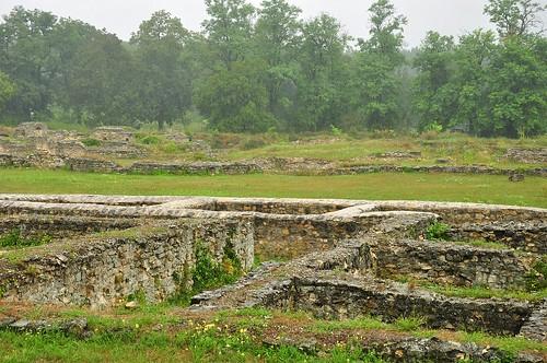 Carnuntum roman baths
