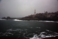 Rumeli Lighthouse (aralavci) Tags: fener denizfeneri lighthouse sea deniz rumelifeneri garipçe istanbul türkiye sarıyer turkey dalga waves winter wind mist