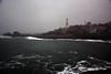 Rumeli Feneri [Rumeli Lighthouse] (aralavci) Tags: fener denizfeneri lighthouse sea deniz rumelifeneri garipçe istanbul türkiye sarıyer turkey dalga waves winter wind mist