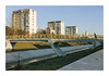Bridge of Faith (Florin Aioanei) Tags: street romania bridge color river city light people florin aioanei 1100d