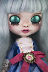 Petunia (theugliestwife) Tags: blythe blythedoll doll artdoll art custom ooakdoll ooak handmade dollmakeup faceup repaint customblythe ooakblythe theugliestwife