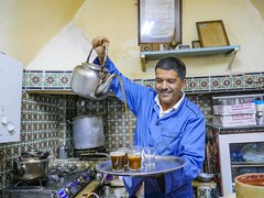Tea maker, Tunis.
