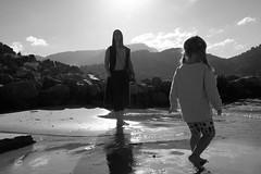 Two hearts (Daniel Staaf) Tags: fujifilm x100s blackandwhite blackwhite bw monochrome beach hearts spain mallorca sun travel travelling