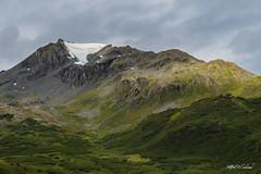 Glacier Cone In Thompson Pass_MG_8944 (Alfred J. Lockwood Photography) Tags: alfredjlockwood nature landscape mountain chugachmountains glacier cloud morning summer valdez thompsonpass alaska tundra richardsonhighway