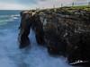 Playa de las Catedrales II (Luis Cortés Zacarías) Tags: sombra playa lugo ribadeo mar marea catedrales