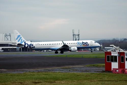 G-FBEF ERJ-195 EGFF