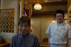 Waitress (Dominic Sagar) Tags: dinner fujifilm japan restaurant t050 t100 t200 x100s waitress akitashi akitaken jp