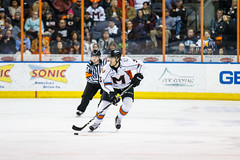 "Missouri Mavericks vs. Quad City Mallards, December 31, 2016, Silverstein Eye Centers Arena, Independence, Missouri.  Photo: John Howe / Howe Creative Photography • <a style=""font-size:0.8em;"" href=""http://www.flickr.com/photos/134016632@N02/31972633991/"" target=""_blank"">View on Flickr</a>"