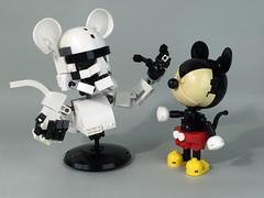Mouse Trooper ([ dA ]) Tags: lego starwars disney star wars mickey mouse stormtrooper storm trooper first order レゴ スターウォーズ ミッキーマウス ディズニー