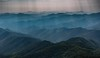Mountains, more Mountains, Haze and Sunbeams (andrew.walker28) Tags: mountains landscape haze hazy sunbeams new england national park northern tablelands south wales australia point lookout