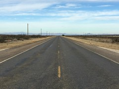 open road, Valentine, Texas (Matt McGrath Photography) Tags: valentine texas unitedstates southwest road yellowline