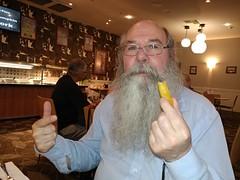 Rod stole a chip!