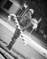 Toy Story (RieFlections) Tags: 7daysofshooting week27 abooktitle blackandwhitewednesday toysoldier armyman toystory