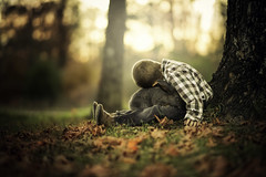 Best of Friends (Phillip Haumesser Photography) Tags: littleboy bunny friends bestfriends kid kidsandanimals friendship philliphaumesser sony fall autumn love