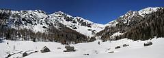 Konjscica in winter (Vid Pogacnik) Tags: slovenia slovenija julianalps pokljukagroup tourskiing skitouring snow spring outdoor landscape velikidraskivrh mountain mountainpeak mountainside