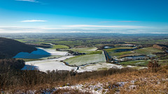 Sutton Bank View (Christopher Combe Photography) Tags: view yorkshire northyorkshire suttonbank winter cold sky blue nikon d750 2485 england uk countryside landscape sunny panorama thirsk