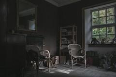 monsters (Robert Kendall.) Tags: abandomed empty forgotten lost decay art artists room wood sculpture home robbiek