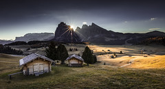 Seiser Alm Sunrise (Frederic Huber | Photography) Tags: 1124 1635 2470 70200 landschaft canoneos5dsr eos fotodiox frederichuber freearc landscape photography wonderpana wwwfrederichubercom south tyrol südtirol tirol italia italien italy dolomites dolomiten sunrise sunset sonnenaufgang sonnenuntergang alto aditge trentino herbst 2016 autumn fall seiser alm alpe di suisi alpine europe alps alpen mountain berge exlore explored
