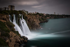 On to the sea (Anthony P26) Tags: antalya category dudenkiyiwaterfall places seascape travel turkey waterfall longexposure blurredwater cloudblur waterblur smoothwater silkwater silkywater whitewater cloudysky cloudy canon canon1585mm canon70d coastal coastline coast sea seashore seaside mediterranean cliffs seacliffs cliff rocks outdoor travelphotography landscape landscapephotography water turkiye wow