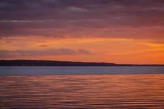 September night in Öresund (frankmh) Tags: sunset september öresund sea water hittarp skåne sweden outdoor