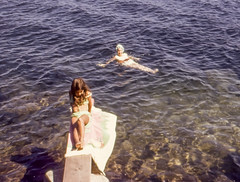 img168.jpg (cathcort) Tags: swimming mom 1969 islandbeach peggy