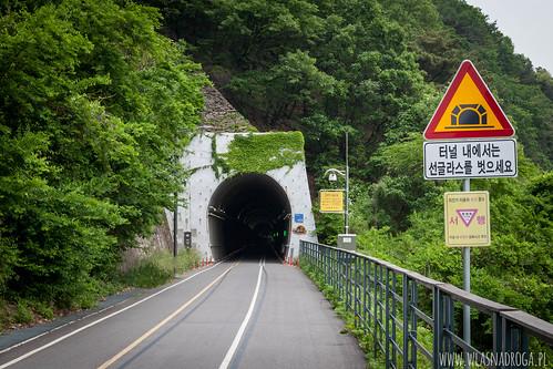 Tunel dla rowerzystów