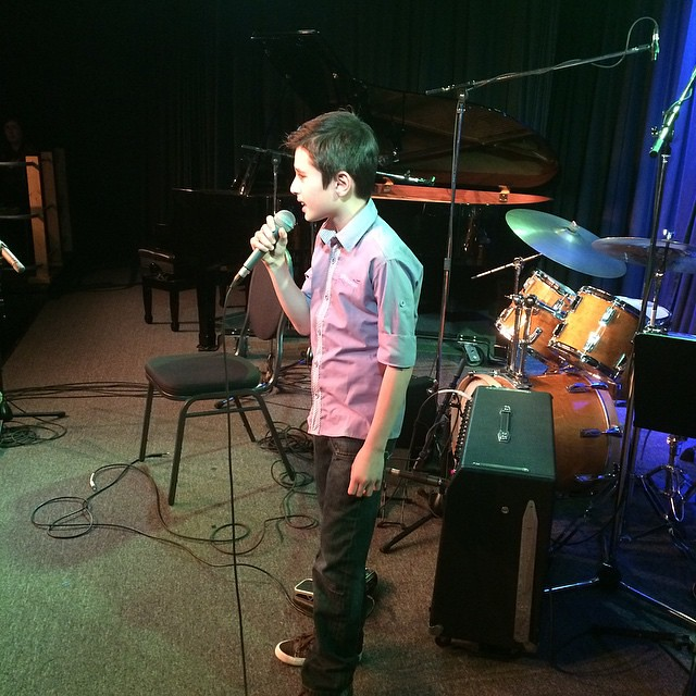 Is Nicolaz the next ED SHEERAN? I think so! #HeartThrob #dominellirecital2015