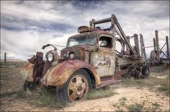 1940 Chevrolet 3000 Norris Cox Well Truck - Cisco, Utah (helikesto-rec) Tags: chevrolet abandoned truck utah 1940 cisco chevy 1940chevrolet3000