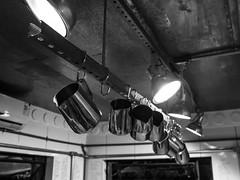 Bules (Luis Carlos de Santana (LUCS)) Tags: blackandwhite caf streetphotography teapots bule bules coffeelab panelas fotodarua