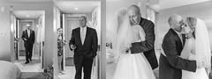 father of the bride first look (jojoannabanana) Tags: portrait people blackandwhite love hug embrace weddingphotography