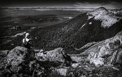 The Photographer (Marcel Rodz) Tags: sunset white black mountains blanco argentina rio landscape atardecer nikon rocks photographer y negro lakes lagos rocas bariloche d610 fografo