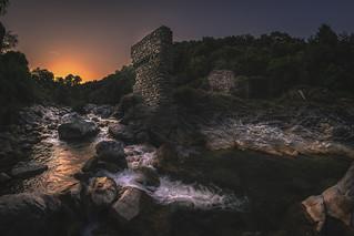 U ruderu d'un anticu ponte (Castagniccia / C☺rsica)