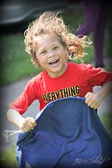logan sack race (ThroughMyEyes_JKM) Tags: summer kids children fun outdoors picnic
