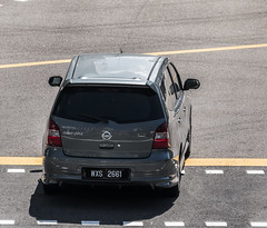 MAL WXS 2661 REAR (rOOmUSh) Tags: grey nissan grand malaysia insingapore livina
