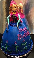 Princess Anna cake by Cyndi, Triad Area, NC, wwwbirthdaycakes4free.com